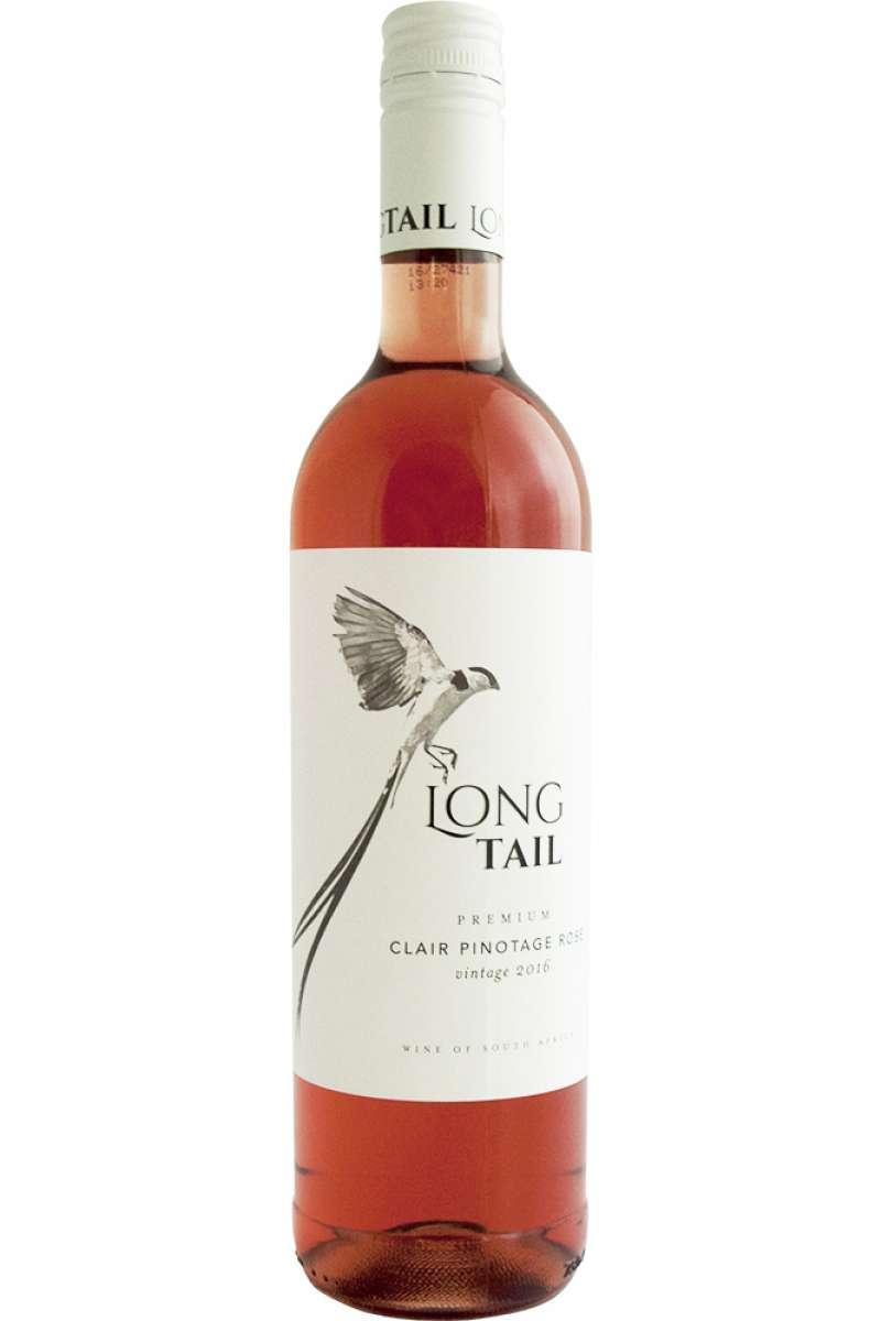 Clair Pinotage Rosé, Premium, Long Tail, Wellington, South Africa, 2018
