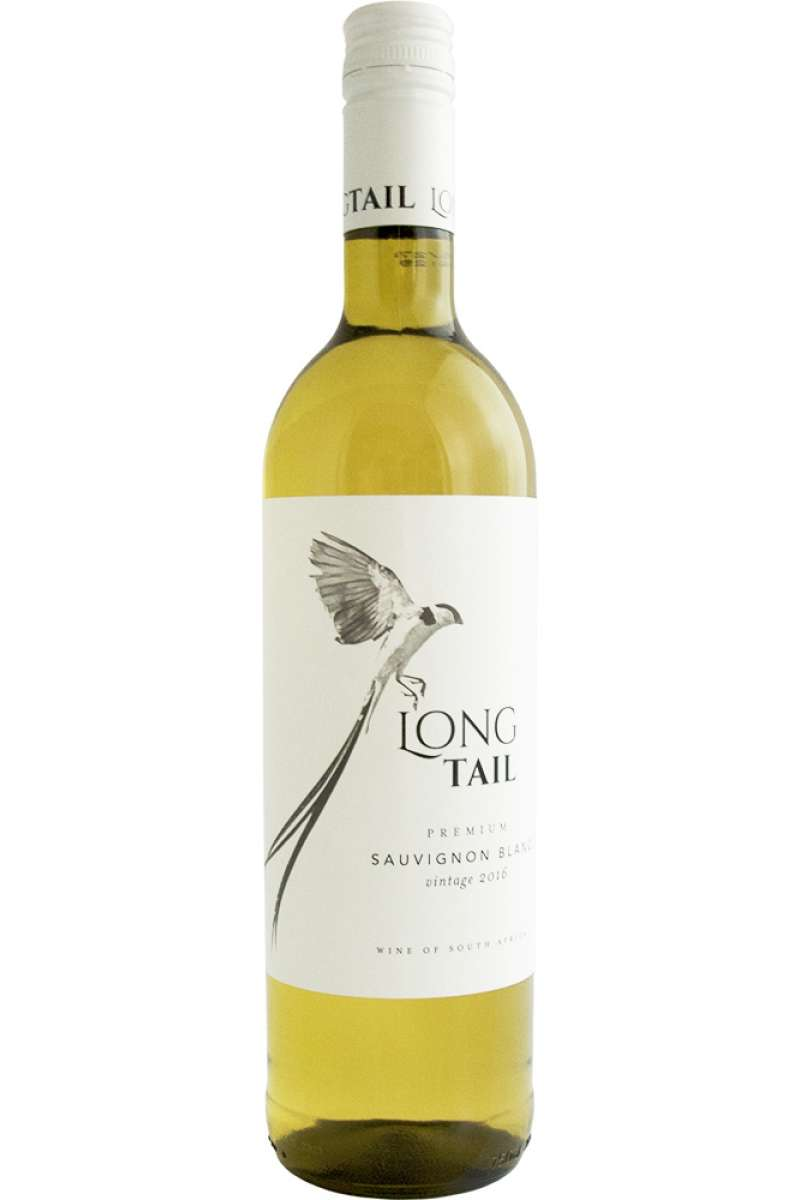 Sauvignon Blanc, Premium, Long Tail, Wellington, South Africa, 2019