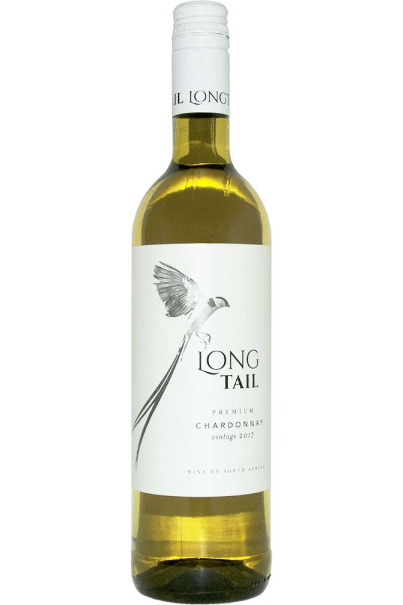 Chardonnay, Premium, Long Tail, Wellington, South Africa, 2018