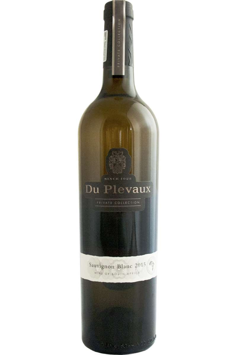 Sauvignon Blanc, Private Collection, Du Plevaux, Wellington, South Africa, 2015