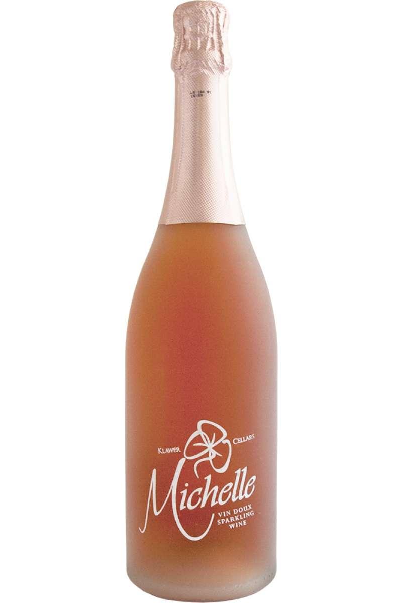 Michelle Sparkling Rosé, Muscat Rouge, Klawer Wine Cellars, Olifants River Valley, Western Cape, South Africa