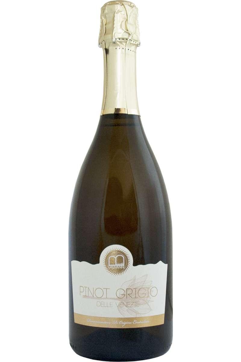 """Sparking Pinot Grigio delle Venezie, Corte Giovanni, Azienda Agricola """"Colli Asolani"""", Bedin, Treviso, Italy"""