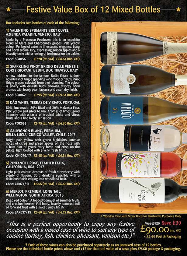 Festive Value Box - Colombier Wines