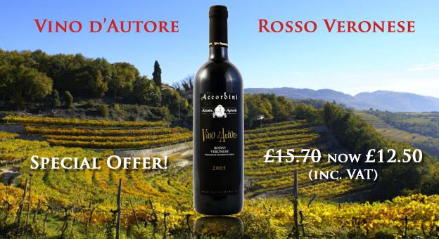 Vino d'Autore Rosso Veronese by Accordini