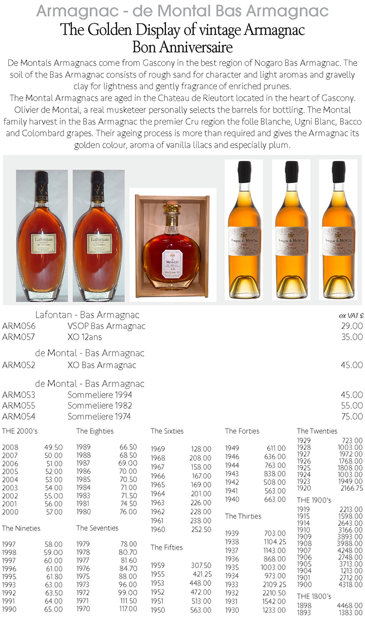 Armagnac from Colombier Wines